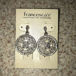 Francesca's Collections Jewelry - Francesca's silver tone earrings